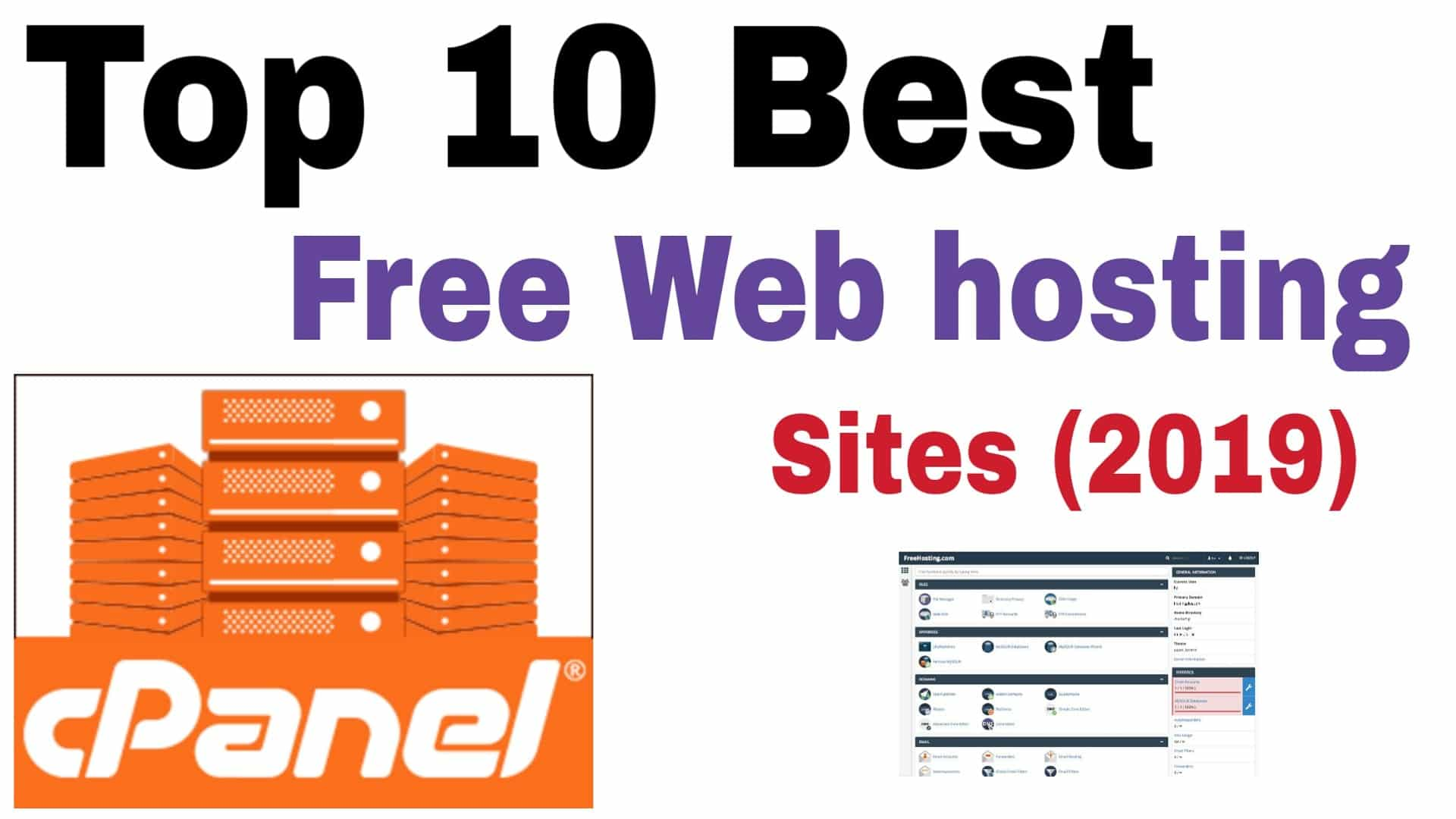 <strong>free hosting with cpanel</strong>